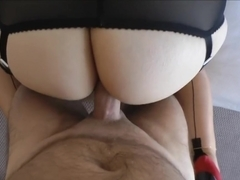 Naughty MILF in six inch heels Anal