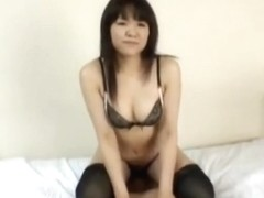 Hot asian girl with big ass smothers him and rides his face
