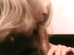Perfect Blow Job Of A Blonde Retro MILF