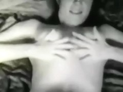 Vintage hairy pussy show