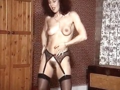 ADDICTED TO MATURES - stockings milf striptease dance