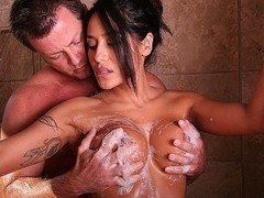 Jenaveve Jolie in Soapy Bounty Hunter Video