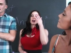 Kendra Lust & Whitney Westgate & Clover in My First Sex Teacher