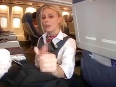 Stewardess gives supplementary service