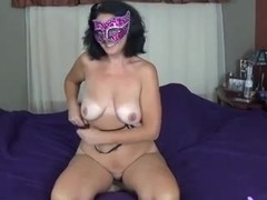 Mature Wife Pleasing her Pussy with her Vibrator