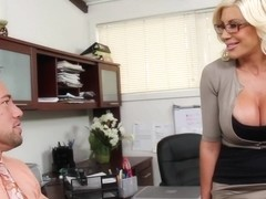 Puma Swede & Johnny Castle in Naughty Office