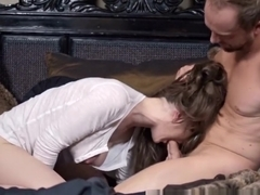 PORNFIDELITY - Molly Jane Wakes Up For A Deep Creampie
