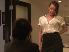 Lesbian Office Seductions #07, Scene #04