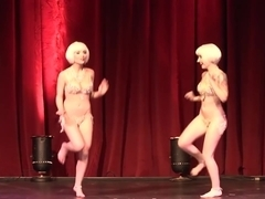 Sabra & Kierstin JohnSin - Twin Burlesque 1