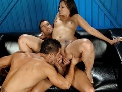 Crissy Moon & Cody Cummings & Rod Daily in Crissy Gets Drenched in Cum! XXX Video