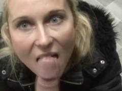 CZECH STREETS - Blonde MILF Picked up on Street