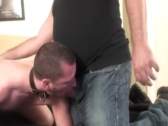Daddy gets rough with boy