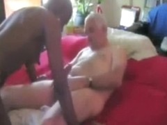 Old dude gets fucked ebony girl