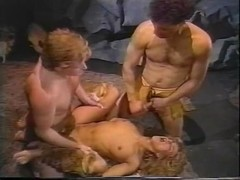 Barbara Dare, Nina Hartley, Erica Boyer in classic porn scene