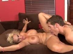 Holly Halston is a black haired hot milf that loves anal sex so fucking much.