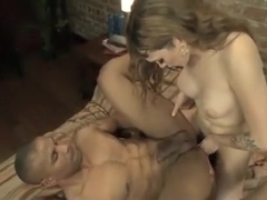 Horny homemade shemale scene with Fucks Guy, Big Tits scenes