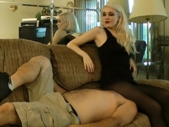 Anna Evans Facesit + Smother on Couch Pt1