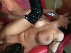 RawVidz Video: Big Titted Carmella DP Fuck