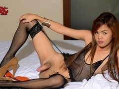 Mikaella In Stockings - Ladyboy-Ladyboy