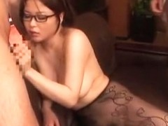 Hottest Japanese model Yuu Haruka in Incredible Secretary, Big Tits JAV movie