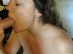 Wake up sex with hotwife - with facial