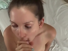 lelu love pov blowjob
