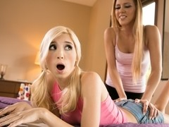 Hollie Mack & Piper Perri in Seduced by My New Sister Video