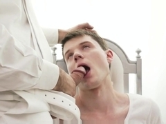 MormonBoyz-Older priest masturbates nervous young Mormonboy