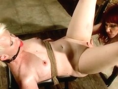 Pornstar sex video featuring Sasha Knox and Maitresse Madeline