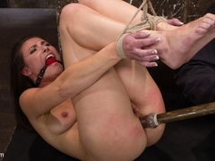 Sgt. Major & Casey Calvert in Sgt Major Vs Casey Calvert - HogTied