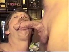 Great throatfuck and cum