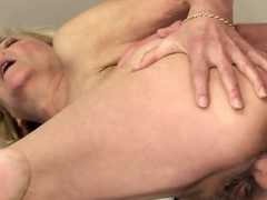 Mature blonde Lili enjoys being screwed hard
