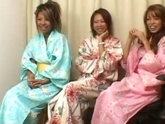 Best Japanese model in Amazing Wife, Gangbang JAV clip