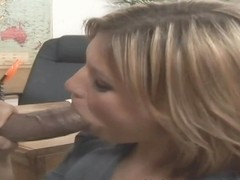 Leigh Livingston in Interracial Hardcore Scene
