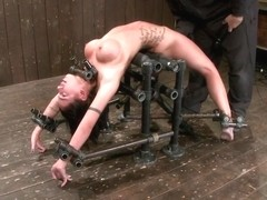 Micah Moore Oiled bent fucked and fucked hard