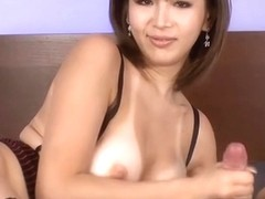 Rousing Asian doggystyle sex