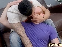 Gay bear ass fucked cum