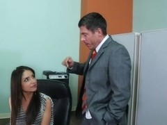 Giselle Leon & Mick Blue in Naughty Office