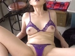 Incredible Japanese slut in Crazy Mature, POV JAV scene