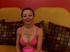 Ange Venus - Oriental mommy takes it up the booty