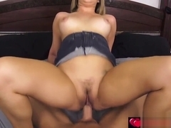 Mila Marx lets stepbro fucks her pussy for money!