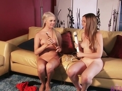 Incredible pornstars Aurielee Summers, Chloe Lynn in Best College, Lesbian xxx movie