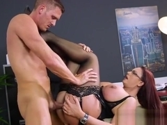 Curvy Boss Emma Butt Gets Humped And Jizzed On