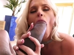 Big booty mature woman Alena Croft riding huge monster black cock
