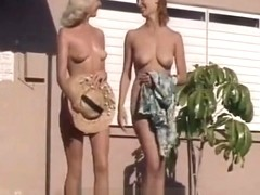 Naked Girls Having Fun at a Nudist Resort (1960s Vintage)