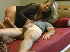 Hot Ass Blonde Babe With Big Boobs Sicks Big Stiff Cannon