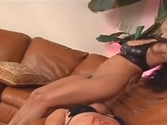 Foot fetish sex video featuring Jaelyn Fox and Jenaveve Jolie