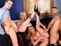 Cherry Torn,Lisa DeMarco,Keni Styles,Otto Bauer in We Are Fucking With Our Neighbors #02, Scene #04