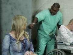Brianna Brooks in Blonde MILF Brianna Brooks Fucked By BBC While Submissive Cuckold Watches On