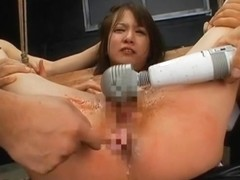 Ryo Tsujimoto and Miharu in hard core sex